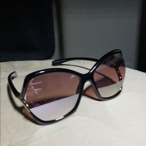 Tom Ford Astrid Butterfly Sunglasses